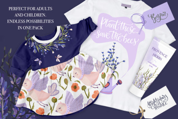 Print on Demand: Provence Hand-drawn Bundle Graphic Illustrations By Red Ink - Image 11