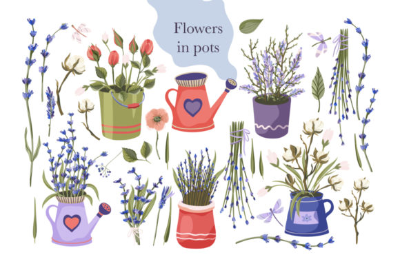 Print on Demand: Provence Hand-drawn Bundle Graphic Illustrations By Red Ink - Image 3
