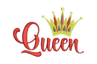 Queen Mother Embroidery Design By Embroidery Designs