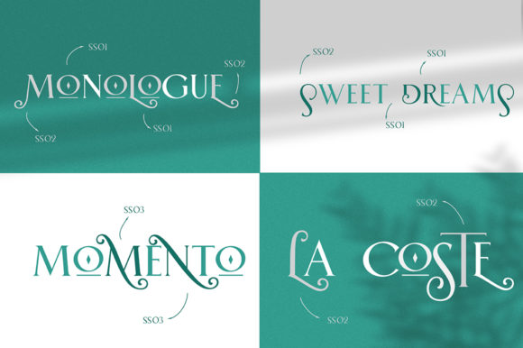 Print on Demand: Rebeque Deco Serif Font By Angin Studio - Image 5