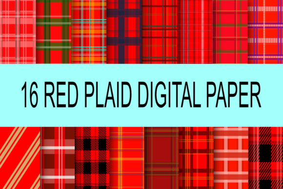 Download Free Red Plaid Christmas Graphic By Rodesigns Creative Fabrica for Cricut Explore, Silhouette and other cutting machines.