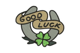 Sailor Tattoo Good Luck Beach & Nautical Embroidery Design By Embroidery Designs