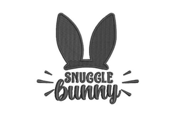 Snuggle Bunny Easter Embroidery Design By Embroidery Designs - Image 1