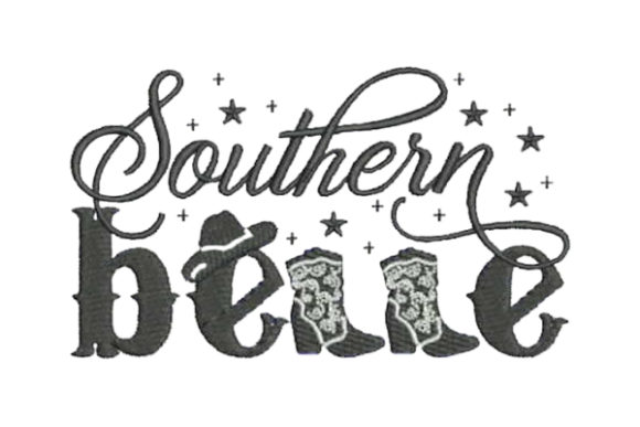Southern Belle Farm & Country Embroidery Design By Embroidery Designs - Image 1