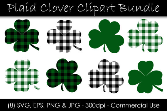 St. Patrick's Day Shamrock Graphic Objects By GJSArt