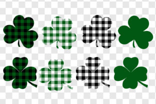 St. Patrick's Day Shamrock Graphic Objects By GJSArt 2