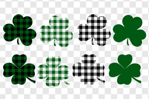 St. Patrick's Day Shamrock Graphic Objects By GJSArt - Image 2