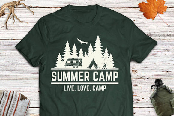 Download Free Summer Camp Graphic By Serdiuk Igor Creative Fabrica SVG Cut Files