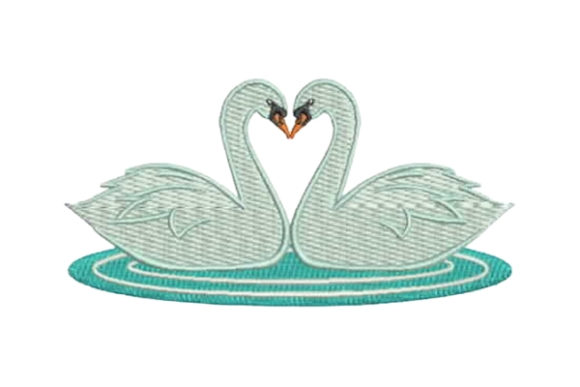 Download Free Swan Heart Creative Fabrica for Cricut Explore, Silhouette and other cutting machines.