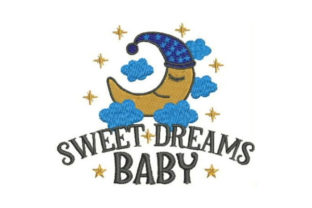 Sweet Dreams Baby Bed & Bath Embroidery Design By Embroidery Designs