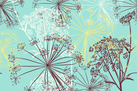 Vintage Elegant Pattern Graphic Patterns By fleurartmariia