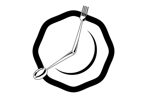 Download Free Dinner Plate Clock Svg Cut File By Creative Fabrica Crafts for Cricut Explore, Silhouette and other cutting machines.