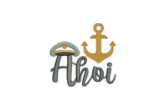 Ahoi Beach & Nautical Embroidery Design By Embroidery Designs - Image 1