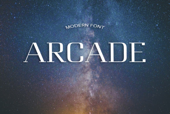 Print on Demand: Arcade Display Font By dmytroyarish