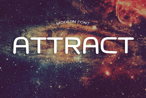 Print on Demand: Attract Display Font By dmytroyarish