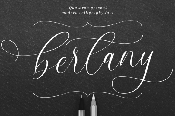 Print on Demand: Bertany Script & Handwritten Font By it_was_a_good_day