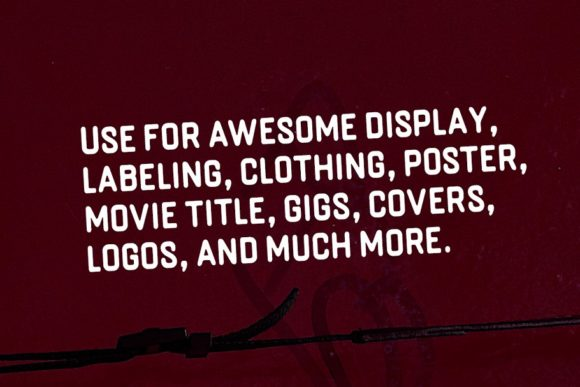 Print on Demand: Bringme Display Font By Solidtype - Image 5