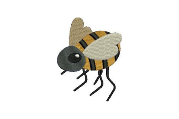 Bumble Bee Bugs & Insects Embroidery Design By Embroidery Designs
