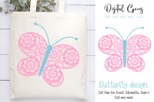 Butterfly Design Graphic Crafts By Digital Gems