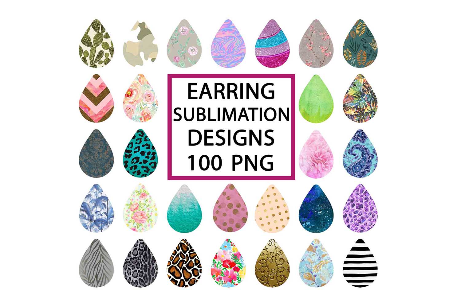 Download Free Drop Earrings Bundle Graphic By Mockup Station Creative Fabrica for Cricut Explore, Silhouette and other cutting machines.