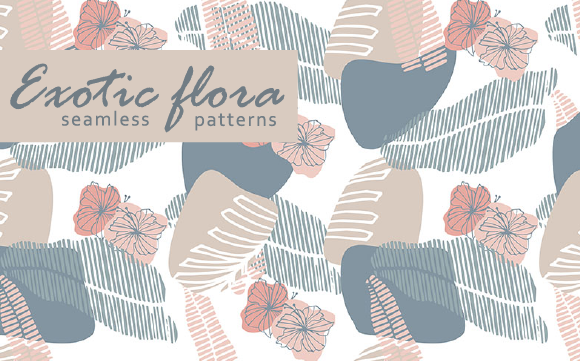 Print on Demand: Exotic Flora Graphic Patterns By Em-Pal