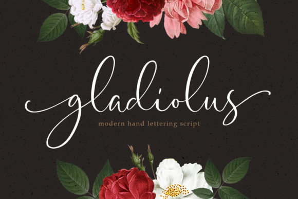 Print on Demand: Gladiolus Script & Handwritten Font By letterhend - Image 1