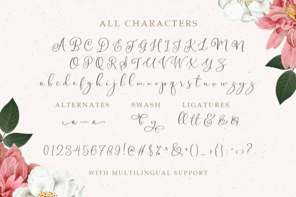 Print on Demand: Gladiolus Script & Handwritten Font By letterhend - Image 8