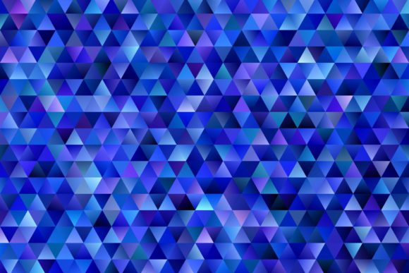 Gradient Triangle Polygon Background Graphic Backgrounds By davidzydd