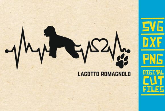 Download Free Lagotto Romagnolo Dog Graphic By Svgyeahyouknowme Creative Fabrica for Cricut Explore, Silhouette and other cutting machines.