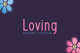 Print on Demand: Loving Display Font By Instagram Fonts