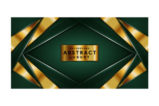 Download Free Luxury Abstract Green Graphic By Mrbrahmana Creative Fabrica SVG Cut Files