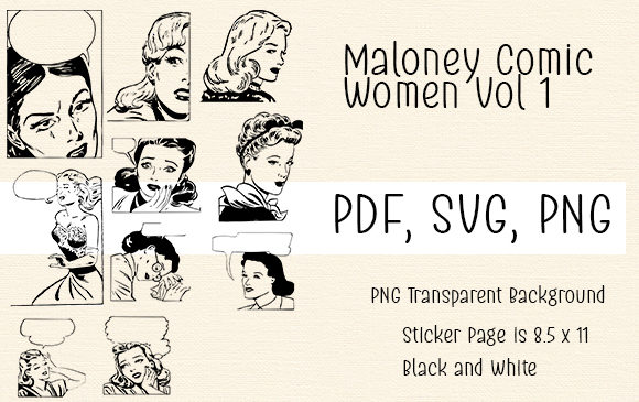 Print on Demand: Maloney Comic Women Vol 1 Graphic Crafts By Kathryn Maloney