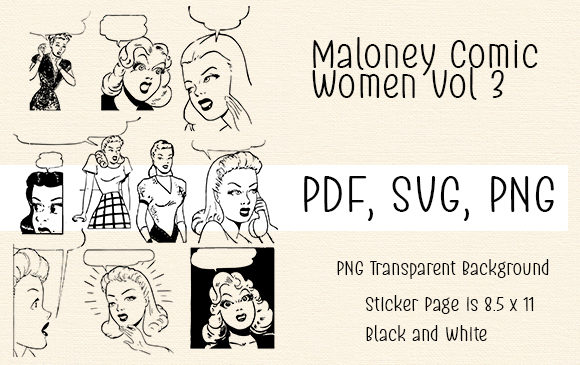 Print on Demand: Maloney Comic Women Vol 3 Graphic Crafts By Kathryn Maloney