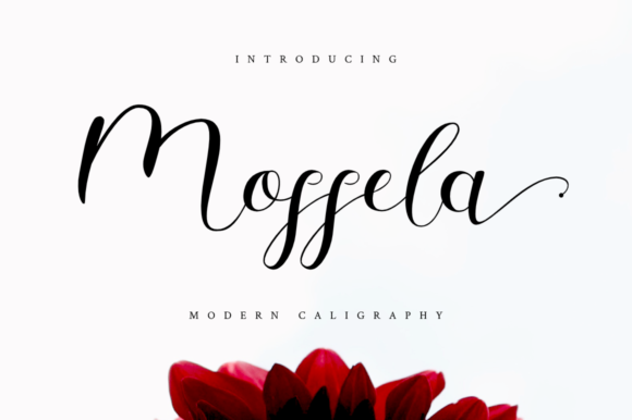Print on Demand: Mosella Script & Handwritten Font By Haffa Studio