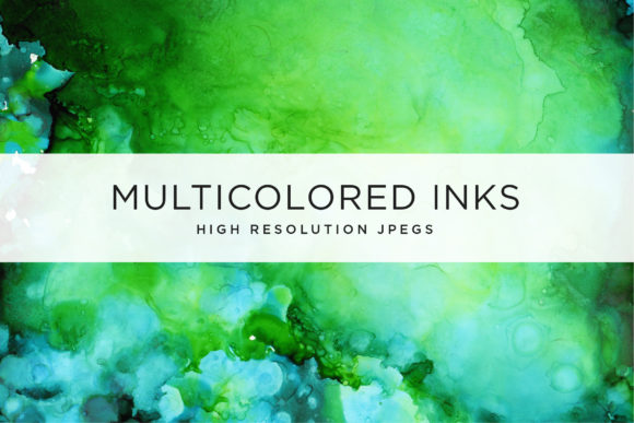 Multicolored Inks - Volume 2 Graphic Textures By Cassandra Cappello