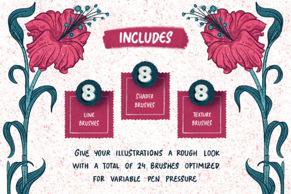 Download Free On The Road Procreate Brush Set Graphic By Shoutbam Creative for Cricut Explore, Silhouette and other cutting machines.