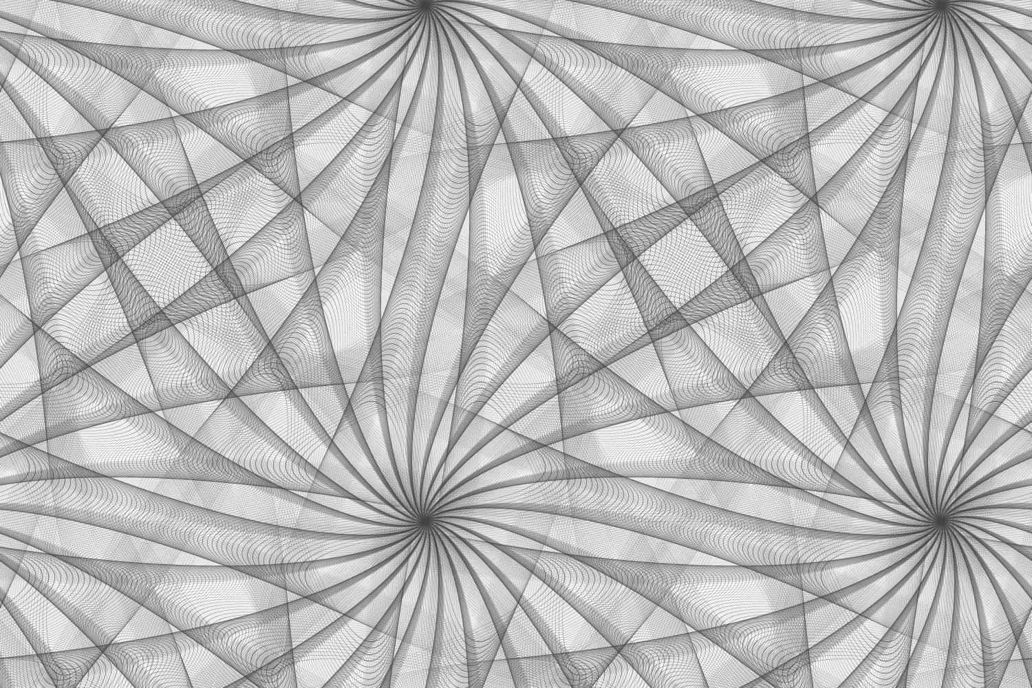 Download Free Seamless Balck And White Fractal Pattern Graphic By Davidzydd for Cricut Explore, Silhouette and other cutting machines.