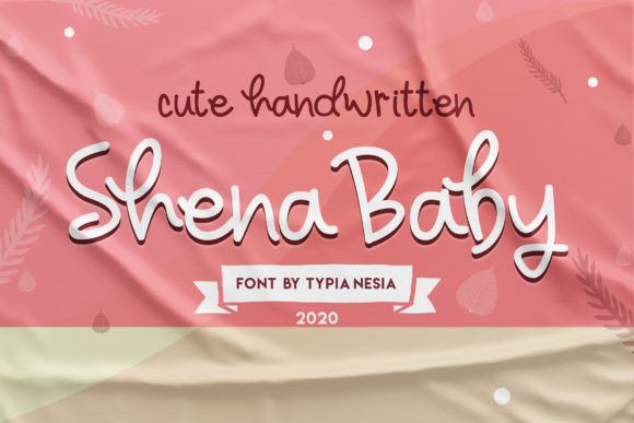Print on Demand: Sheyna Baby Script & Handwritten Font By Typia Nesia