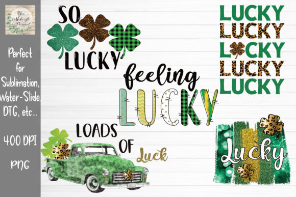 Print on Demand: St Patrick's Day Bundle Graphic Print Templates By You Make It Personal - Image 1