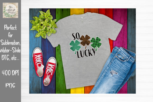 Print on Demand: St Patrick's Day Bundle Graphic Print Templates By You Make It Personal - Image 10