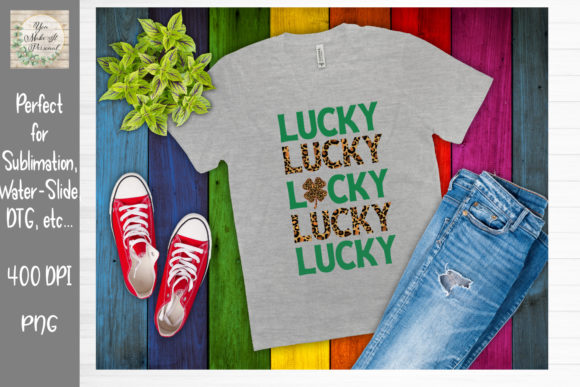 Print on Demand: St Patrick's Day Bundle Graphic Print Templates By You Make It Personal - Image 7