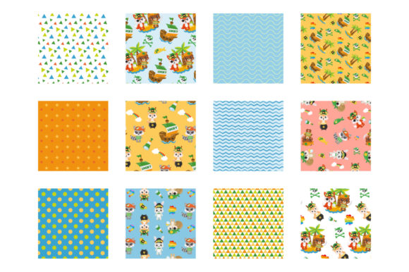 Print on Demand: St. Patrick's Woodland Graphic Patterns By Prettygrafik - Image 2