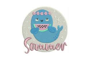 Summer Summer Embroidery Design By Embroidery Designs