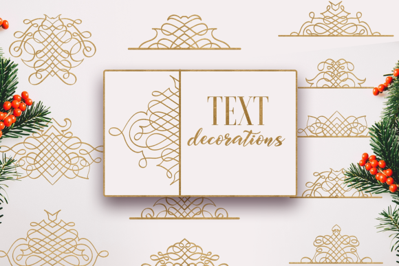 Text Decorations Graphic Crafts By Craft-N-Cuts - Image 1