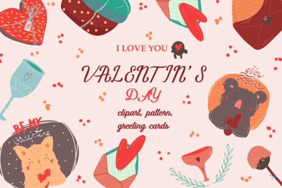 Download Free Valentine S Day Graphic By Zolotovaillustrator Creative Fabrica for Cricut Explore, Silhouette and other cutting machines.
