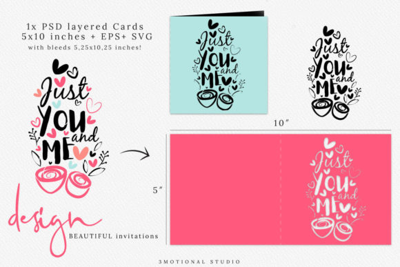 Download Free Valentine S Day Photo Card Template Graphic By 3motional for Cricut Explore, Silhouette and other cutting machines.