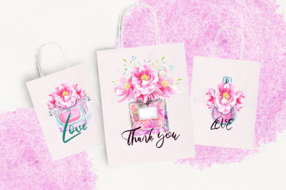 Print on Demand: Watercolor Wild Roses Clip Art Graphic Illustrations By evgenia_art_art - Image 9