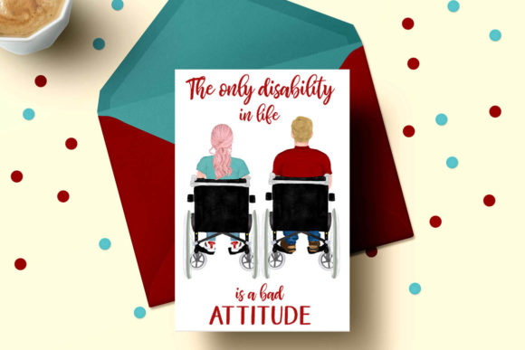 Wheelchair Clipart Disability Graphic Illustrations By LeCoqDesign - Image 5