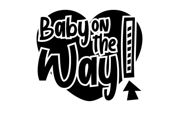 Download Free Baby On The Way Svg Cut File By Creative Fabrica Crafts for Cricut Explore, Silhouette and other cutting machines.