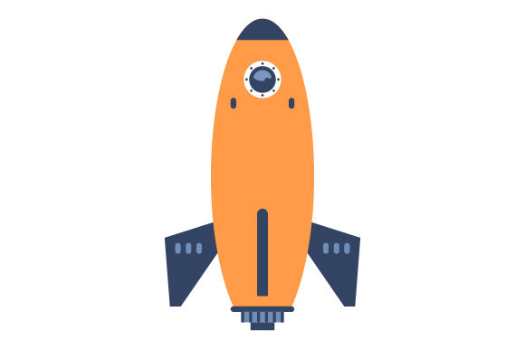 Rocket Kids Craft Cut File By Creative Fabrica Crafts - Image 1
